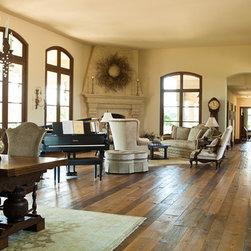 Beautiful Custom Home in Stevensville, MD - Jeld-Wen Custom Windows; Stained Douglas Fir Interior; Eyebrow Casement Windows