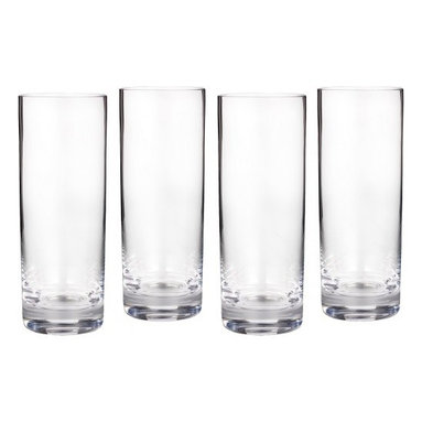Waterford - Marquis by Waterford Vintage HiBall Glasses, Set of 4 - Clean and contemporary, the Vintage Entertaining Collection from Marquis by Waterford is characterized by modern styling and full-bodied elegance.