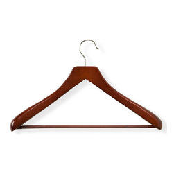 Honey Can Do International LLC - Honey Can Do Deluxe Contoured Suit Hangers with Non-Slip Bar - Set of 2 Multicol - Shop for Clothing Hangers from Hayneedle.com! About Honey-Can-DoHeadquartered in Chicago Honey-Can-Do is dedicated to helping you organize your life. They understand that you need storage solutions that are stylish and affordable at the same time. Honey-Can-Do focuses on current design trends and colors to create products that fit your decor tastes while simultaneously concentrating on exceptional quality. When buying a Honey-Can-Do product you can be sure you are purchasing a piece that has met safety control standards and social compliance methods.