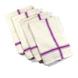 Cotton Napkins - Set of 4 Handmade 100% Cotton Napkins