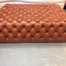 Traditional Footstools And Ottomans by Kostas Upholstery