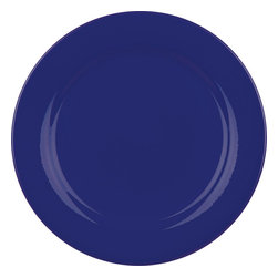 Waechtersbach - Set of 4 Salad Plates Fun Factory Royal Blue - Serve up salads, appetizers and desserts with Fun Factory Royal Blue Salad Plates. Combining classic round shape with solid color, these durable ceramic side plates were created for everyday meals and special occasions.