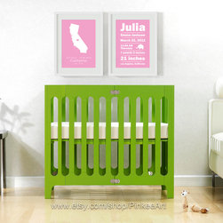 11X14 inches, Baby birth announcement, baby birth stats prints - 11x14 inches prints.