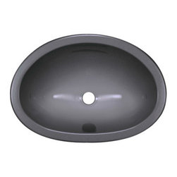 "Lyons Industries - Lavatory Sink, 17.5""L x 12.25""W Single Bowl 6"" Deep Acrylic, Undermount - Lyons Industries Metallic Silver acrylic Undermount or Drop-In style Lavatory sink with a 6"" deep bowl. This self rimming 17.5""X12.25"" sink is easy to install and is convenient for use with Granite or solid surface vanity tops. This sturdy sink has durable easy to clean high gloss acrylic construction with a fiberglass reinforced insulation backer. This sink is quiet and provides a superior heat retention than other sink materials. Lyons sinks come with a simple mounting tab and clip system to firmly fasten the sink to the countertop and reinforced drain area. Detailed installation instructions include the cut-out specifications. Lyons sinks are proudly made in America by experienced artisans supporting our economy."