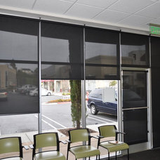 Modern Roller Shades by World Class Window Coverings