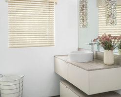 """Smith & Noble 2"""" Durawood Cordless Blinds - Enduring design and functionality make our Durawood Blinds a perennial favorite with homeowners. The clean lines look just like the surface of hand-painted, fine wood and won't warp, crack, peel, or fade. Durawood Blinds are shipped in 5 business days."""