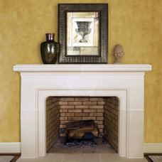 traditional fireplaces by Old World Stoneworks