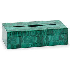 Modern Tissue Box Holders by SHERLE WAGNER INTERNATIONAL