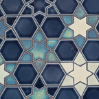 New Releases - A new mosaic pattern using metallic craftsman glazes, C611 and C609 and W96.