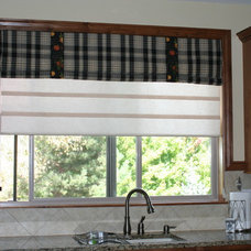 Traditional Roman Shades by Ambiance Home Interiors
