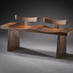 "Custom Furniture - Seating - ""Tandem"" bench"