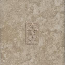 Eleganza - Eleganza - Travertine Deco B 6x6 - TR66-3 - Traditional-Classic Collection