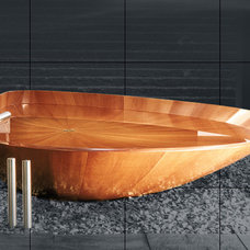 Free-standing bathtubs - Glossary - Bagno Sasso - Exclusive wooden bathtubs