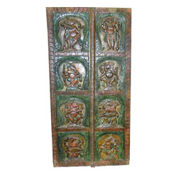 Carved Wall Panels - http://www.mogulinterior.com/ganesh-doors.html