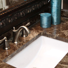 Traditional Vanity Tops And Side Splashes by Galaxy Sales, Inc. (Manufacturers Representative)