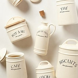 Anthropologie - Bistro Canisters - *Stoneware