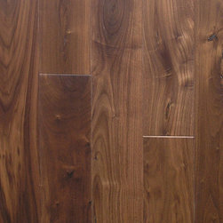 Heidelberg Wood Flooring - Old Town Collection- Walnut Saxon - Walnut Saxon This rich brown flooring is prefinished.  Every floor is made to order.