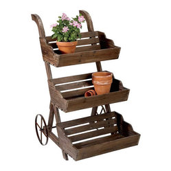 French Country Plant Stand