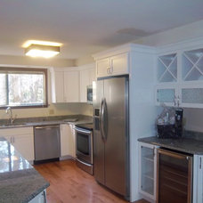 Contemporary Kitchen by Lowe's of Torrington, CT