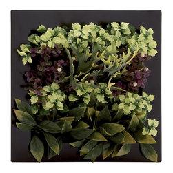 Benzara - Stylish and Classic Style Polyethylene Floral Wall Home Decor 64062 - Description: