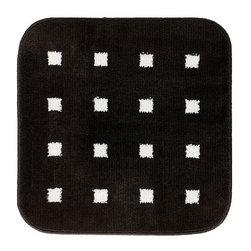 Emma Jones - GUBBSKÄR Bathmat - Bathmat, black, white