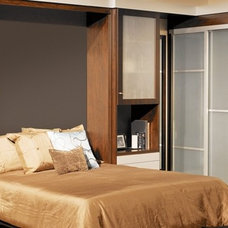 Contemporary Bedroom by WorkSpaces Inc.