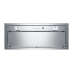 """Bertazzoni - KIN30 PER X Professional Series 30"""" Range Hood Blower Insert  Electronic Control - For use with custom canopies this efficient and quiet insert hood draws air through the lower perimeter thus accelerating the air flow and reducing noise It has three settings for different extraction levels Two halogen lights give bright worktop ill..."""