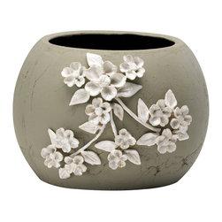 Cyan Design - Medium Lily Planter - -Medium Lily Planter