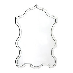 Warlock Mirror - This curvy, modern take on the Venetian mirror would add a glimmering touch of luxury to any room it landed in. I'd hang it above my vanity.