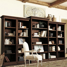 traditional bookcases cabinets and computer armoires by Ballard Designs