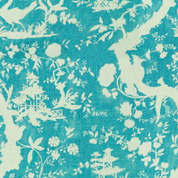 Lee Jofa - Nirvana Shadow Fabric - This gorgeous toile is 100% linen and comes in 5 fresh color-ways.