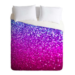 DENY Designs - DENY Designs Lisa Argyropoulos New Galaxy Duvet Cover - Lightweight - Turn your basic, boring down comforter into the super stylish focal point of your bedroom. Our Lightweight Duvet is made from an ultra soft, lightweight woven polyester, ivory-colored top with a 100% polyester, ivory-colored bottom. They include a hidden zipper with interior corner ties to secure your comforter. It is comfy, fade-resistant, machine washable and custom printed for each and every customer. If you're looking for a heavier duvet option, be sure to check out our Luxe Duvets!