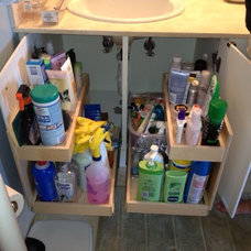 Bathroom Cabinets And Shelves by ShelfGenie of Miami