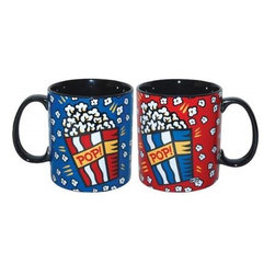 Westland - 4 Inch Popcorn Theme Ceramic Coffee Mug, Holds Up To 14 Ounces - This gorgeous 4 Inch Popcorn Theme Ceramic Coffee Mug, Holds Up To 14 Ounces has the finest details and highest quality you will find anywhere! 4 Inch Popcorn Theme Ceramic Coffee Mug, Holds Up To 14 Ounces is truly remarkable.