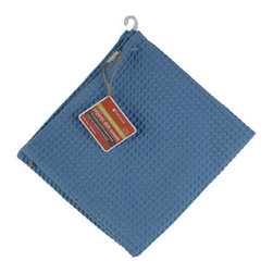 Full Circle - Full Circle In The Buff Organic Dish Towel, Blue - In The Buff Dish Towel from Full Circle makes your cleaning a breeze and is a responsible, reusable choice for your home: