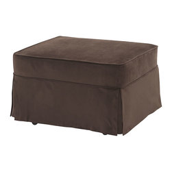 Castro Convertibles™ - Castro Convertible Sleeper Ottoman-Single, Coffee - Castro Convertible™ ottoman with 5 inch thick Castropedic™ innerspring mattress.