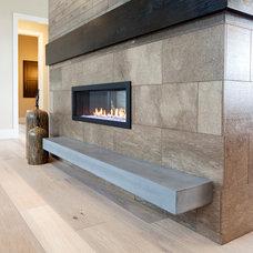 Modern  by Sound Concrete Countertops
