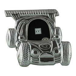Sterling Silver Picture Frame - Car - -Made from 950 Peruvian sterling silver