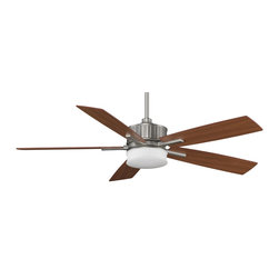 "Fanimation - Fanimation FPD8087SN Landan Satin Nickel 60"" Ceiling Fan - Features:"