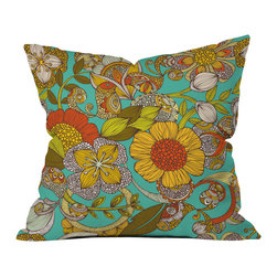 Valentina Ramos Amelia Outdoor Throw Pillow - Do you hear that noise? it's your outdoor area begging for a facelift and what better way to turn up the chic than with our outdoor throw pillow collection? Made from water and mildew proof woven polyester, our indoor/outdoor throw pillow is the perfect way to add some vibrance and character to your boring outdoor furniture while giving the rain a run for its money.