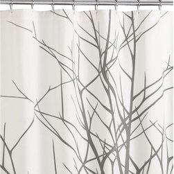 Arbor Shower Curtain - Outdoor showers aren't realistic in my city neighborhood, but this shower curtain would help me fake it. I'd pair it with lime green and teal accessories.