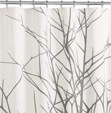 Modern Shower Curtains by CB2