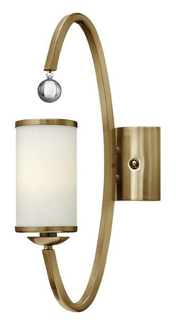 Hinkley Lighting - Hinkley Lighting 4851BC Monaco Brushed Caramel Wall Sconce - Hinkley Lighting 4851BC Monaco Brushed Caramel Wall Sconce