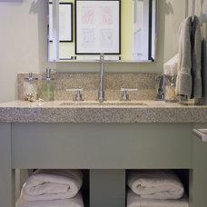 Contemporary Bathroom by Dean J. Birinyi Photography