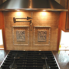 Eclectic Tile by Woodmaster Kitchens
