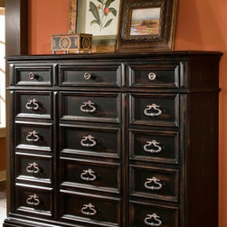 PULASKI Furniture - Brookfield Drawer Dresser - 993100 - ransitional Style