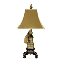 Dimond Lighting - Dimond Lighting 93-302 Weston 1 Light Table Lamps in Cozad - Weston