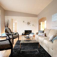 Modern Living Room by Birgit Anich Staging & Interiors