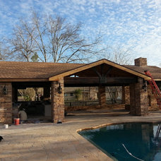 Traditional Patio by ENB Contracting & Remodeling