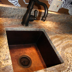 St. Matthews Area Customer - Native Trails bar sink with Perrin & Rowe faucet.